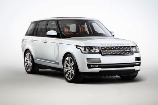 Range Rover есть в собственности у самого