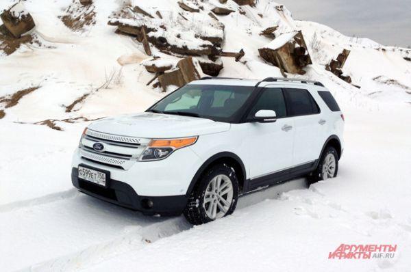 Алексей Михеев задекларировал Ford Explorer.