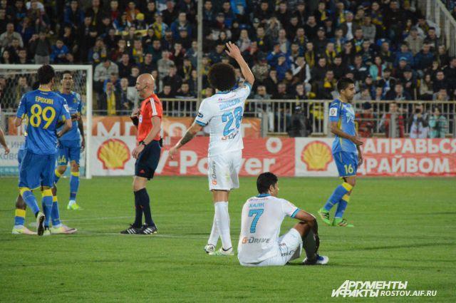 «Зенит» во главе с Халком безнадежно проиграл «Ростову» 0:3.