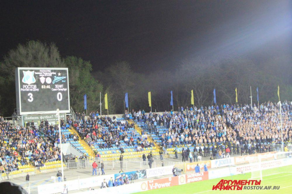 ФК «Ростов» сенсационно победил 3:0 и взял реванш за поражение в первом круге в Санкт-Петербурге с таким же счетом.