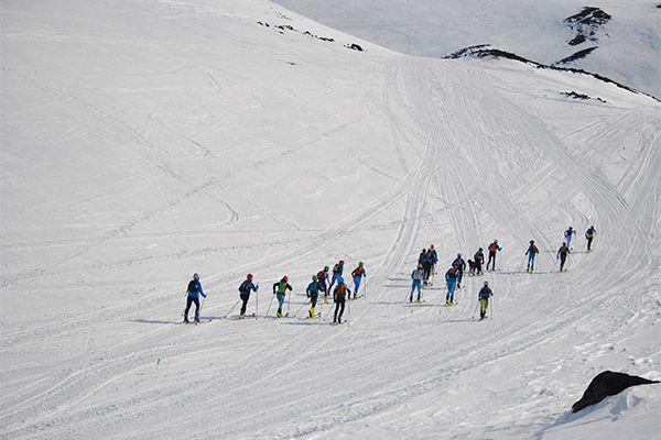 В гонке приняли участие около 30 спортсменов.