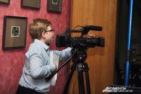 На «Библионочи» омичей учили снимать кино.