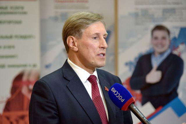 Виктор Гринкевич на Мальцовском форуме.