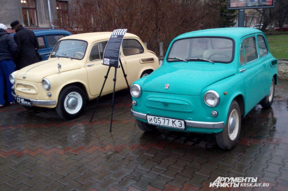 На такой машине ездили в Красноярске в 50-е годы