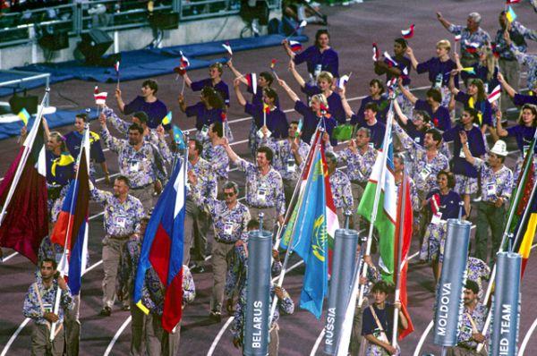 Объединённая команда, в которую входили спортсмены государств — бывших республик СССР на летних Олимпийских и паралимпийских играх 1992 года в Барселоне (Испания).