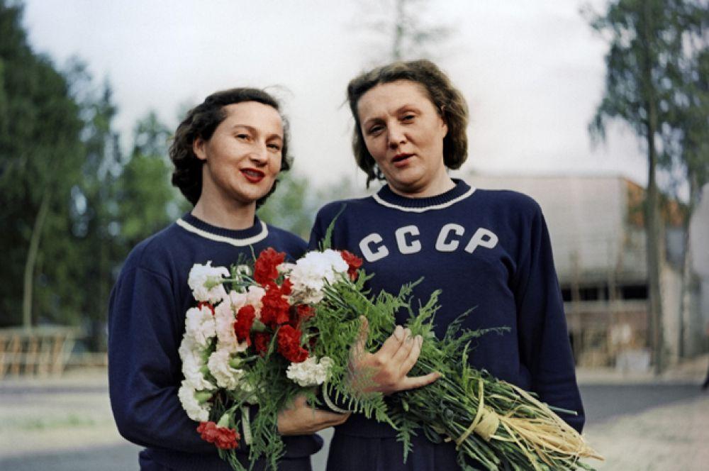 XV летние Олимпийские игры 1952 года в Хельсинки (Финляндия).