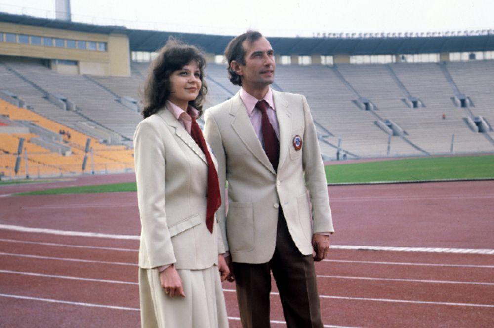 Модели костюмов, разработанные советскими модельерами для участников XXII летних Олимпийских игр 1980 года в Москве.
