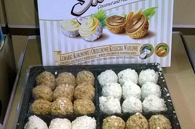 В Калининград не пустили 679 кг конфет из-за их сходства с «Raffaello».