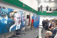 Участники праймериз в зале МГУУ живо реагировали на все слова президента.