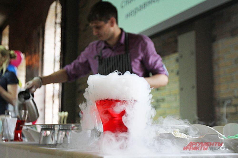 Приготовление необычных блюд превращалось в завораживающие эксперименты.