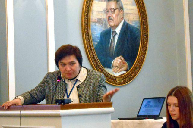Фарида Забирова, председатель Тро ВООПИиК.