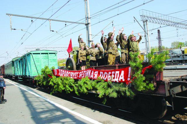 Подготовка к главному майскому дню в Омске в самом разгаре.