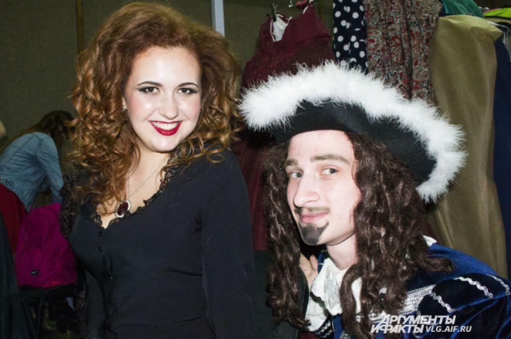 Екатерина Кирякова в образе Миледи Винтер из «Трех мушкетеров» поразила зрителей костюмами, точно повторяющими наряды из фильма.