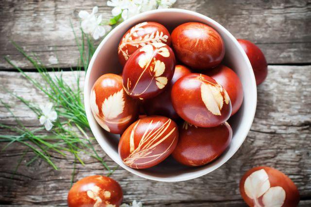 Яйца на пасху рекомендации