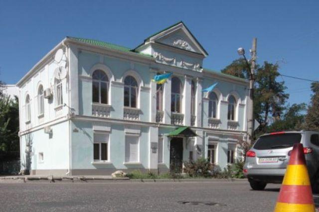 Здание Меджлиса в Крыму