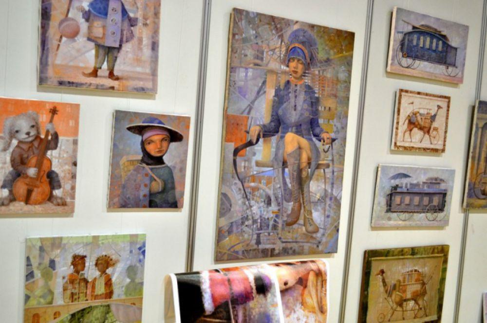 Впервые в этом году на выставке «Арт-Ростов» прошел VIP-прием «Вечерний вернисаж», который организаторы обещают сделать ежегодным.