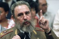 Первый секретарь ЦК Компартии Кубы, Председатель Государственного совета и Совета Министров Республики Куба Фидель Кастро Рус. 1989 год.