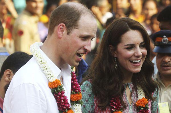 10 апреля 2016 года. Визит герцога и герцогини Кембриджских в Индию.