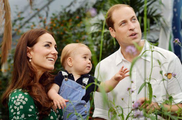 21 июля 2014 года. Первый день рождения принца Джорджа родители решили отметить в музее естественной истории.