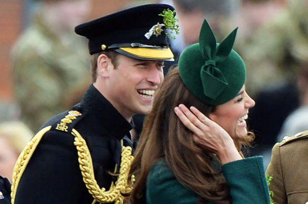 17 марта 2014 года. Кейт и Уильям на праздновании дня Святого Патрика.