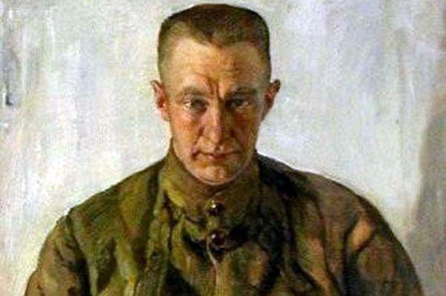 Портрет Керенского работы Исаака Бродского.