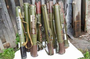Изъятые гранатометы
