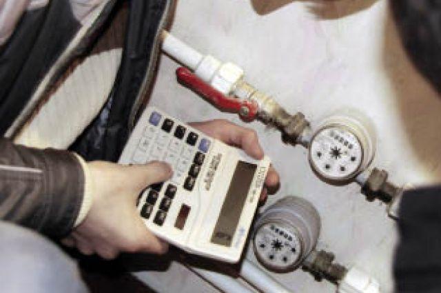 Установленные счётчики позволяют контролировать расход воды.