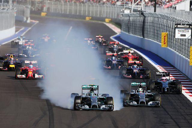 Ночная гонка чемпионата мира 'Формулы-1' пройдет в России