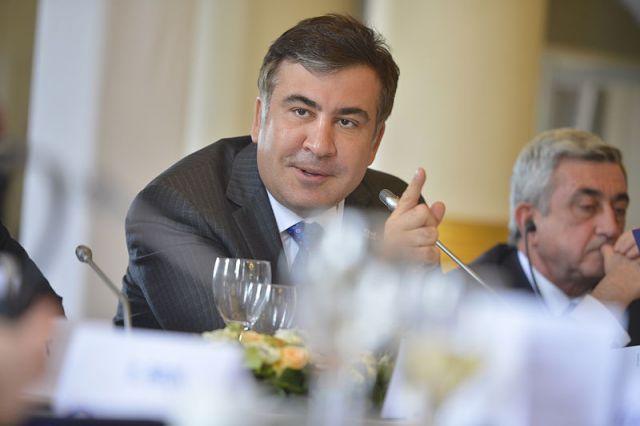 Саакашвили: без моих усилий Яценюк вплоть доэтого времени былбы премьером