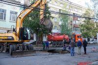 Провалы порой происходят в Новосибирске.