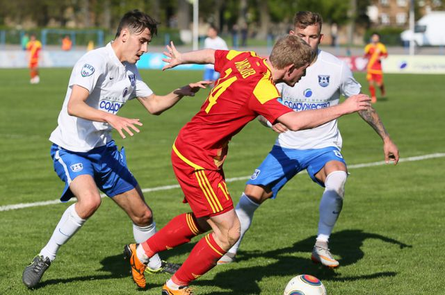 Калининградская «Балтика» проиграла тульскому «Арсеналу», пропустив 4 мяча.