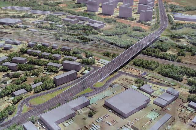 Руководство области пробует увеличить финансирование строительства путепровода вЧистые Пруды