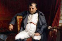 Наполеон Бонапарт после отречения во дворце Фонтенбло. Деларош (1845).