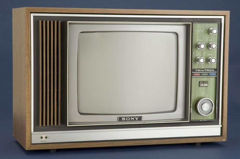 2-е место. Цветной телевизор Sony Trinitron