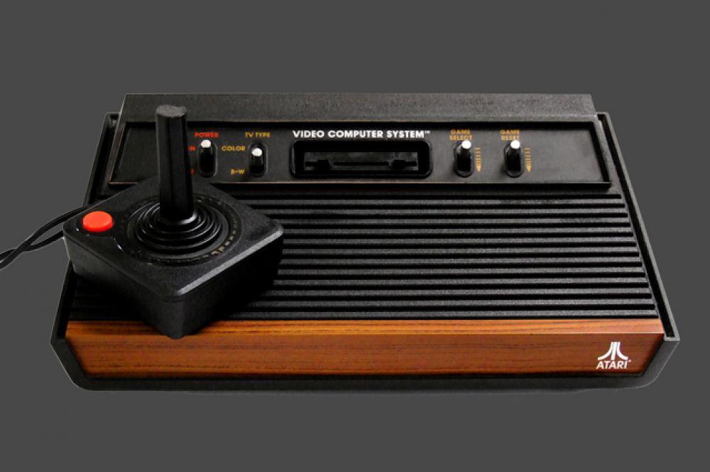 13-е место. Игровая приставка Atari 2600
