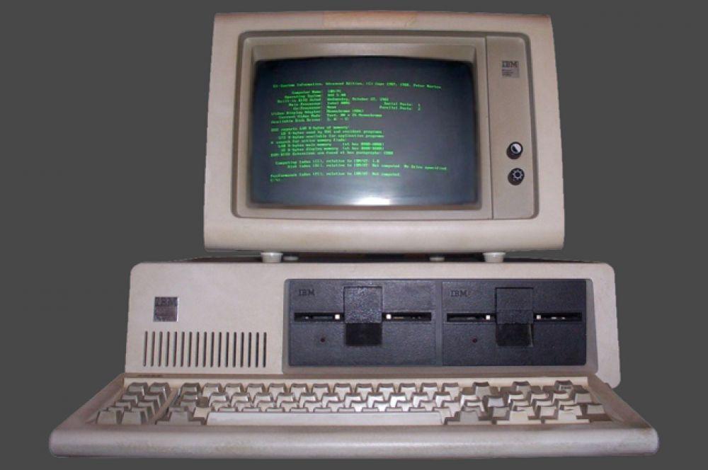 5-е место. Первый массовый персональный компьютер IBM Model 5150