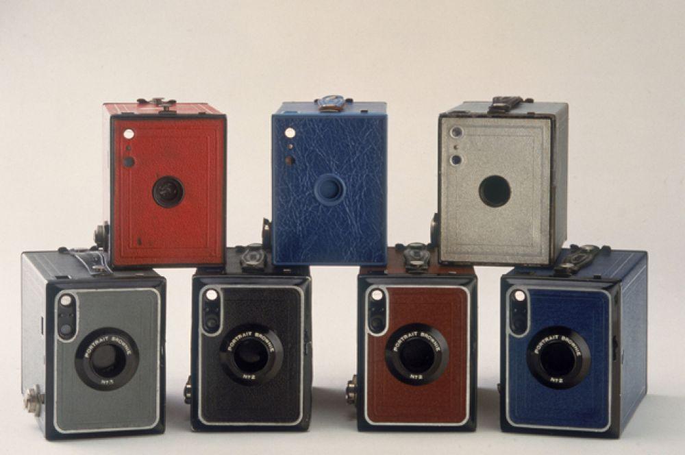 8-е место. Линейка простейших фотоаппаратов Kodak Brownie Camera