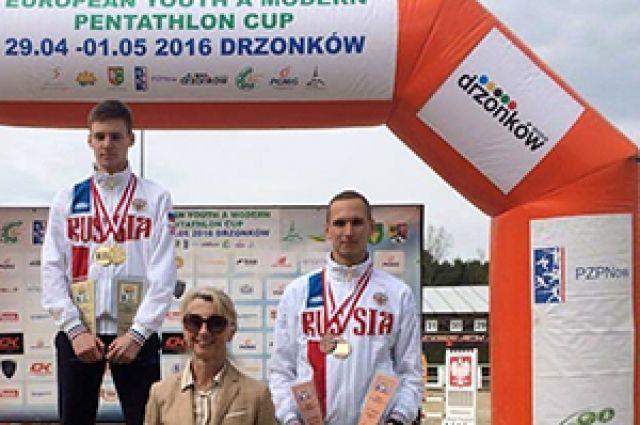 Пятиборец из Калининграда Виктор Саух выиграл «бронзу» Кубка Европы.