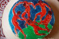 Торты в руках Настасьи превращаются в шедевры искусства.