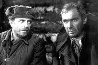 Ролан Быков и Владимир Заманский в фильме «Проверка на дорогах», 1971 год.