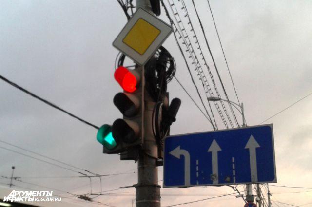 Водителей в Калининграде проверят на знание правил проезда перекрестков.