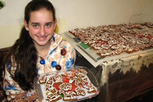 Семья из Зернограда поделилась уникальным рецептом рождественских пряников.