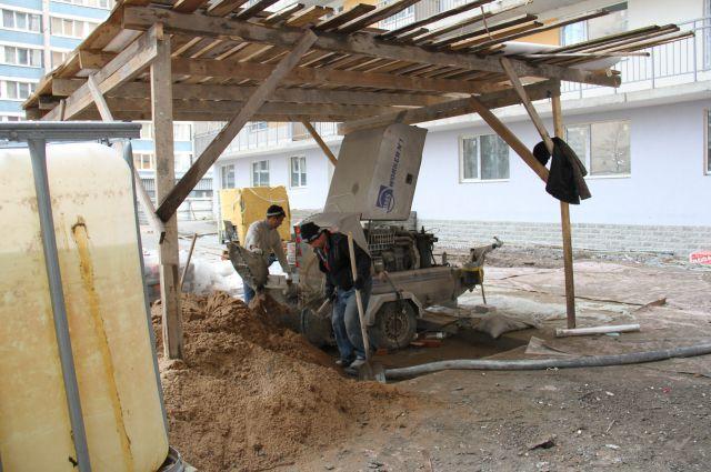 Стройка никак не закончится с 2011 года.