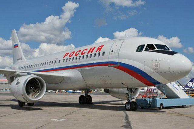 Девочка прилетела самолетом авиакомпании «Россия».