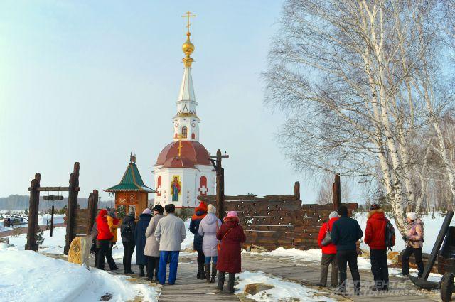Часовня Анастасии Узорешительницы в Мариинске.