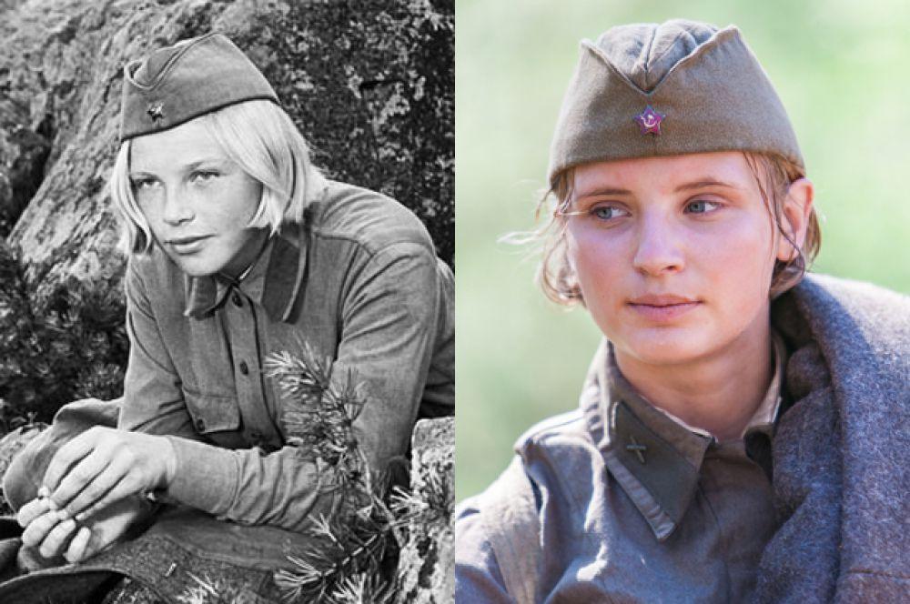 Лиза Бричкина — Елена Драпеко (1972) и Софья Лебедева (2015)