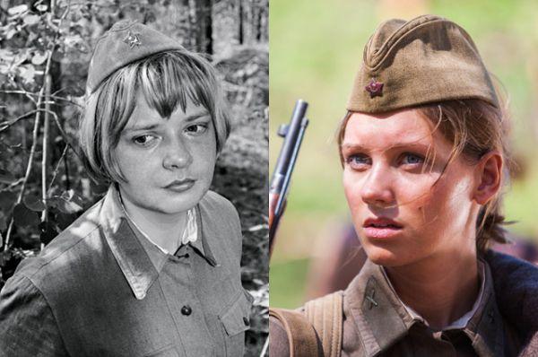Галя Четвертак — Екатерина Маркова (1972) и Кристина Асмус (2015)