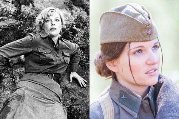 Женя Комелькова — Ольга Остроумова (1972) и Женя Малахова (2015)