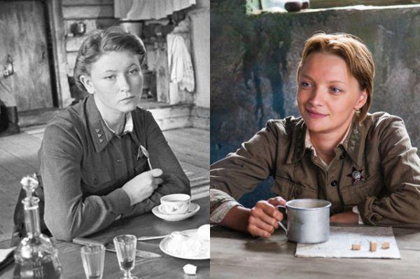 Сержант Кирьянова — Людмила Зайцева (1972) и Екатерина Вилкова (2015)