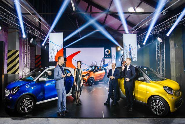 Smart представил обновление для своего модельного ряда в России